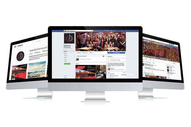 gogettersvancouver, optimizedwebmedia, client, socialmedia, showcase