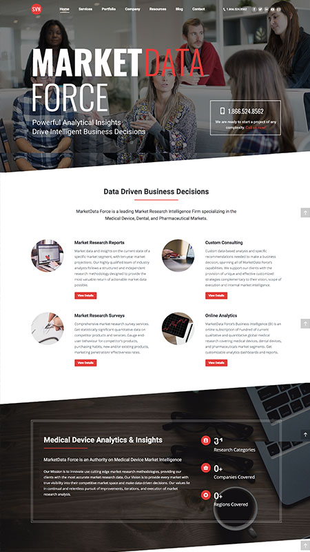 marketdataforce-optimizedwebmedia-client-page-screenshot-1