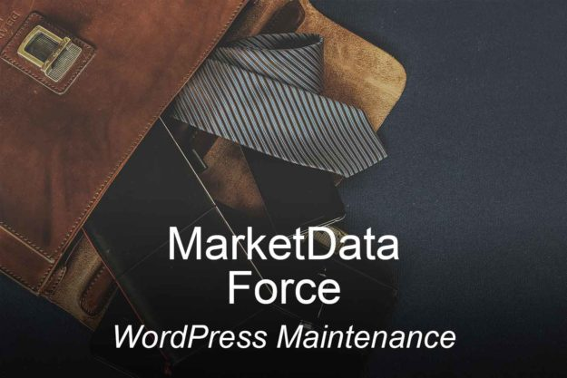 marketdataforce, optimizedwebmedia, clients, website, wordpress, maintenance