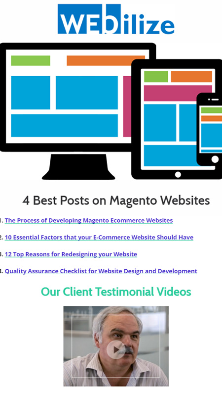 webi, optimizedwebmedia, client, marketing, automation 4