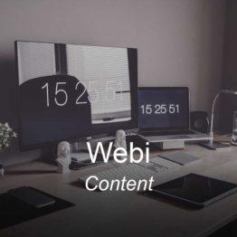webi, optimizedwebmedia, clients, portfolio, content