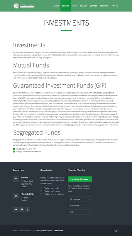 worldcapitalfinancial, optimizedwebmedia, client, screenshot 2