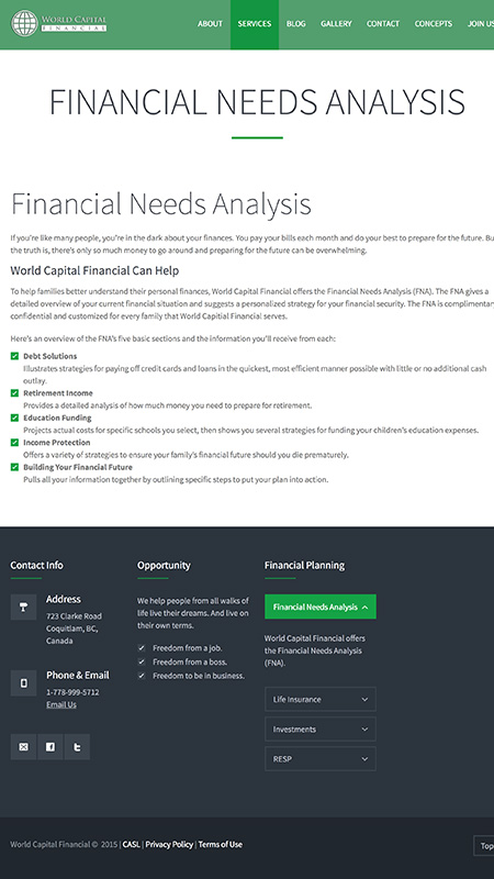 worldcapitalfinancial, optimizedwebmedia, client, screenshot 3