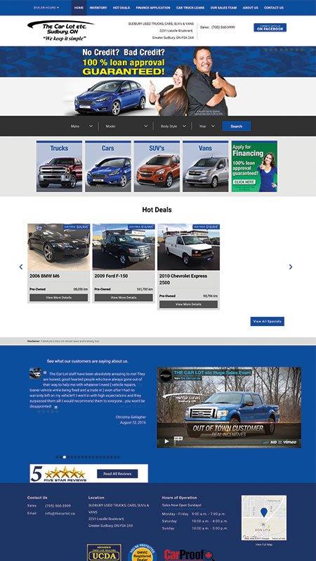 thecarlotetc, optimizedwebmedia client, website, wordpress, 1