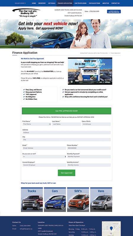 thecarlotetc, optimizedwebmedia client, website, wordpress, 3