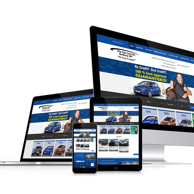 thecarlotetc, optimizedwebmedia client, website, wordpress