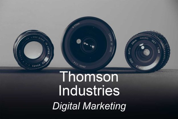 thomson industries, optimizedwebmedia, clients, digital marketing
