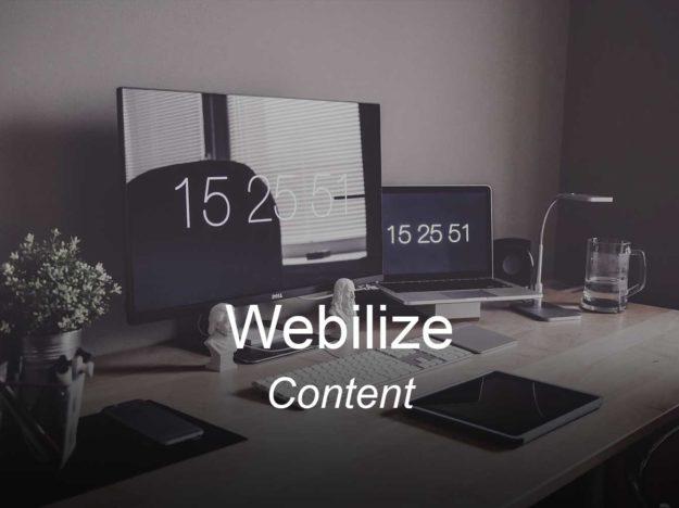 webi, optimizedwebmedia, clients, content marketing