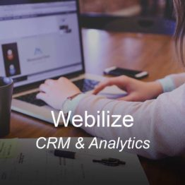 webi, optimizedwebmedia, clients, crm sales email analytics funnel