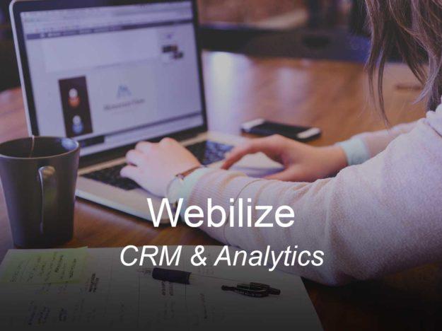 webi, optimizedwebmedia, clients, crm sales email analytics funnel
