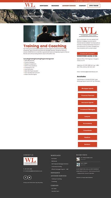 winestonelava, optimizedwebmedia, client, website, wordpress, 4