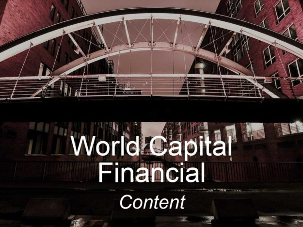 world capital financial, optimizedwebmedia, clients, content marketing
