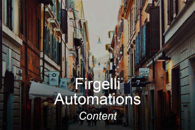 firgelli, optimizedwebmedia, clients, content, marketing