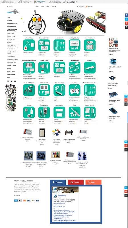 firgelli robots, optimizedwebmedia, client, website, shopify 1