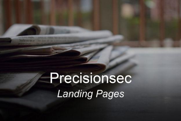 precisionsec-clients-landingpages