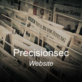 precisionsec, optimizedwebmedia, clients, website