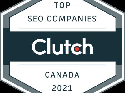 Clutch Award-Top SEO Companies-Canada-2021-Optimized Webmedia Marketing